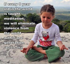 meditation 8 year old